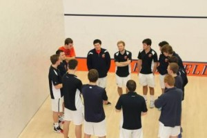 2014 MSquash Team Huddle